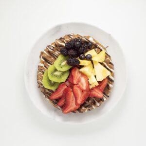 Chocofruit Waffle